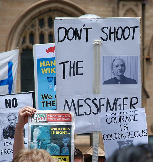 Por qué la Democracia necesita de gente como Assange