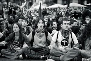 El Partido Humanista denuncia la violencia institucional el 25S y pide a los manifestantes mantener el espíritu no violento