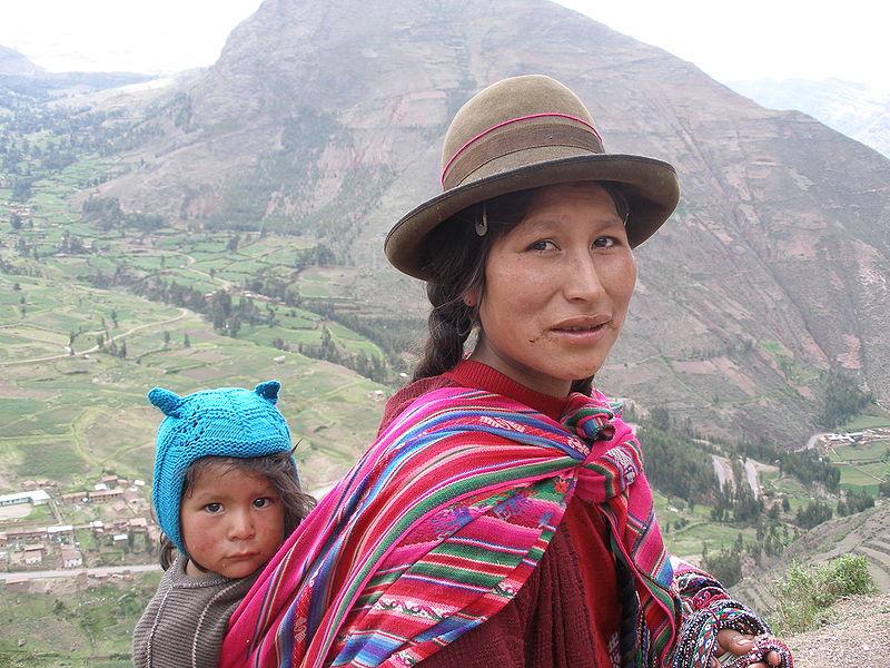 Regret, but Peru women showing skin