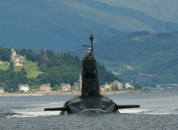 Scottish nuclear weapons