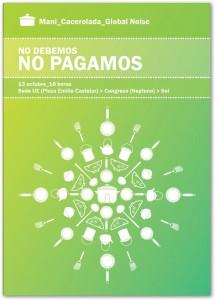 13 Octubre: «No debemos, no pagamos»