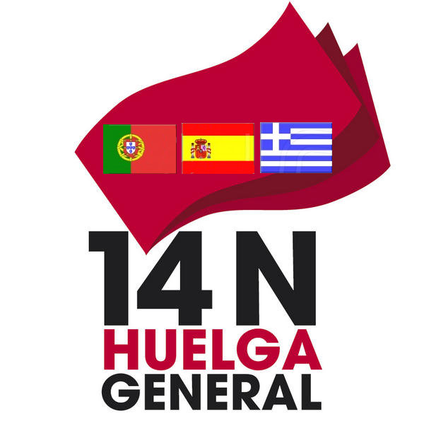 14N, Premier appel à la grève générale européenne