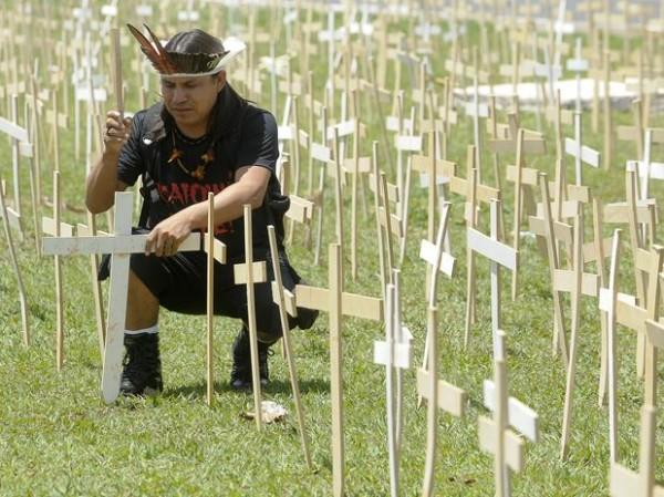 Genocídio indígena brasileiro?