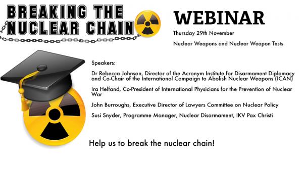 Breaking the Nuclear Chain – the Webinar