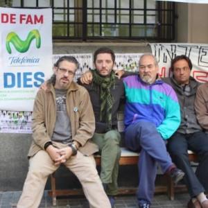 Huelga de hambre en Telefónica: la dignidad de los que luchan