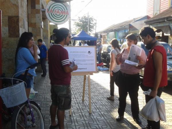 Educación cívica en la calle