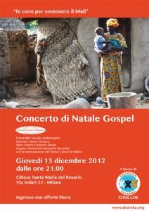 Concerto di Natale a sostegno del Mali