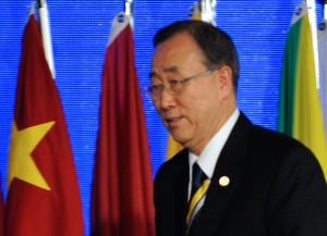 Ban Ki-moon reitera denúncia contra assentamentos israelenses