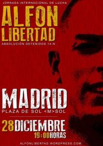 Espagne, Des rassemblements dans 30 villes pour la libération d'Alfon