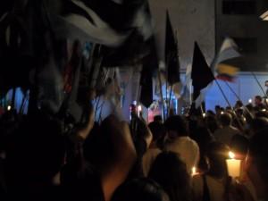 Esther Sosa: «Los humanistas elegimos acompañar al Presidente Chavez con una ceremonia de Bienestar»