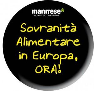 Sovranità alimentare in Europa, ora!