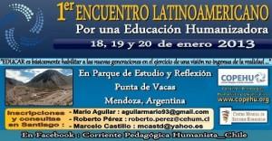 1º Encuentro Latinoamericano para una Educación Humanizadora