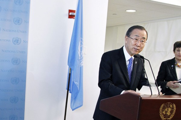 World can no longer procrastinate on disarmament issues – Ban Ki-moon