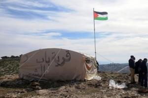 Palestinian Village of Bab Al-Shams Violently Evicted