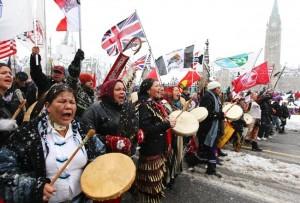 «Idle no more» (Fini la passivité), le mouvement canadien pour les autochtones