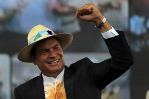 Ecuador: polls show Correa will win next week's elections