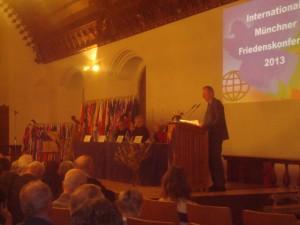 Munich, 11ème Conférence internationale de la Paix