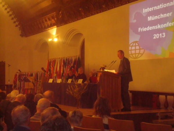 Munich: the 11th holding of the International Peace Conference