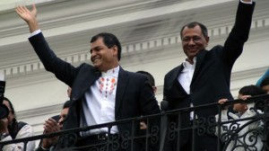 Correa re-elected as Ecuador's president