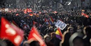 """España unida contra el """"golpe de Estado de los mercados"""""""