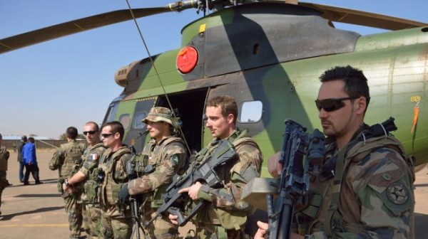 France defense minister rejects talk of Mali withdrawal