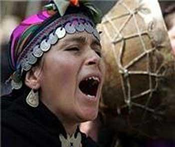 Pare, pare Señor Piñera la agonía del pueblo Mapuche!