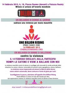 One Billion Rising a Milano