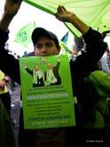 El cambio tiene que ser irreversible, afirma Rafael Correa, presidente reelecto del Ecuador en rueda de prensa