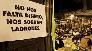 Spain is in the hands of thieves