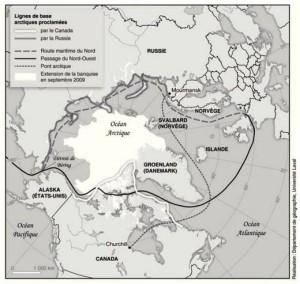 Le passage du Nord-Est : un espace stratégique dans l'Arctique