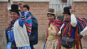Bolivian parliament approves a law guaranteeing a violence-free life for women