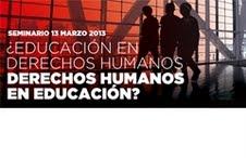 Seminario para educadores en derechos humanos busca posicionar compromiso social por el nunca más en Chile