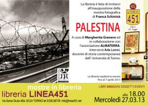 Mostra fotografica sulla Palestina