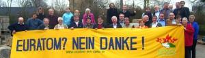 Euratom, protesta davanti al Parlamento tedesco