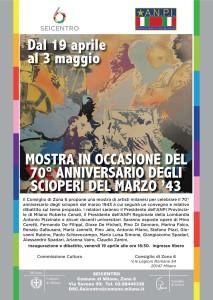 Mostra in occasione del 70° anniversario degli scioperi del marzo '43