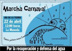 Notifican a Intendencia de Santiago por el recorrido de la Marcha Nacional por la defensa y recuperación del agua