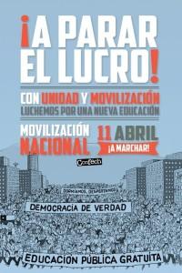 """Estudiantes chilenos confirman marcha por la Alameda: """"Los problemas en educación siguen más latentes que nunca"""""""