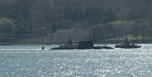 Abolition 2000 at Faslane: Get Rid of the Nukes!