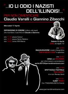 Per non dimenticare Claudio Varalli e Giannino Zibecchi