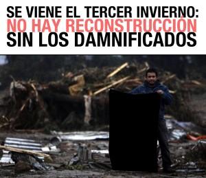 Movimiento Nacional por la Reconstrucción Justa (MNRJ), rechaza balance del ejecutivo realizado por el Presidente chileno