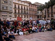 Malaga, de retour dans la rue après 2 ans