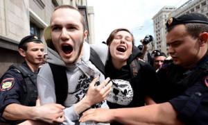 Marcia gay repressa in Russia