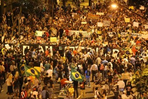 Shock and hope: Millions of young people protesting on the streets of Brazil