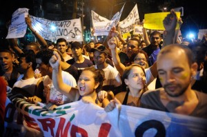 What's the world coming to? Brazilians demand cancellation of the Word Cup