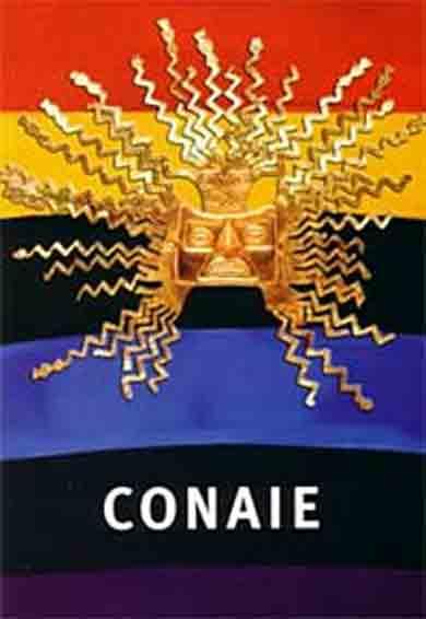 Posicionamiento de la CONAIE frente a Ley de Comunicación