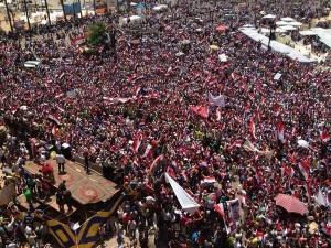 Enormi manifestazioni in Egitto per chiedere le dimissioni di Morsi