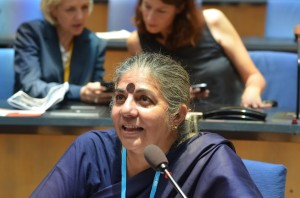 Dr. Vandana Shiva: a 1% rule has never lasted it must be 100% participation