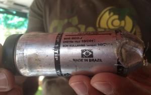 Bomba brasileira na pele turca