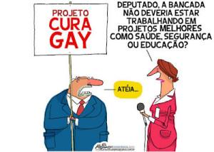 "Psicólogos e movimentos sociais protestam contra projeto da ""cura gay"""