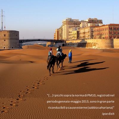 Picchi di sabbia sahariana a Taranto? Il commissario straordinario dell'Ilva smentito da un video di PeaceLink